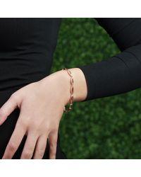 Monique Péan | Metallic Fossilized Dinosaur Bone Bracelet | Lyst