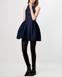 Maje - Blue Dress - Grease Fit And Flare - Lyst
