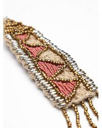 Free People - Red Banjara Womens Boheme Sunset Necklace - Lyst