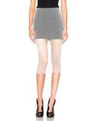 Michelle Mason - White Mason By Pencil Skirt - Lyst