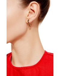 Genevieve Jones Metallic Classic Wishing Safety Pin Earring
