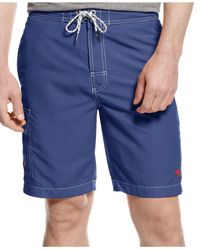 Tommy Bahama | Black Big & Tall Baja Poolside Swim Trunks for Men | Lyst