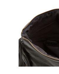 Oasis   Black Tabby Tasselled Crossbody Bag   Lyst