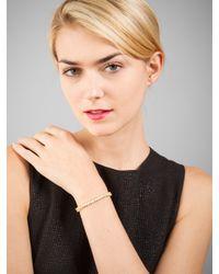 BaubleBar - Metallic Marquise Tennis Bracelet - Lyst