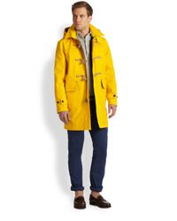 Polo Ralph Lauren Yellow Rlx Toggle Coat for men