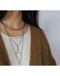 Jenny Bird Metallic Neith Necklace