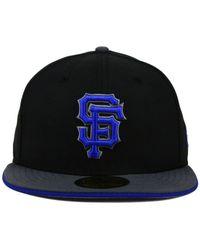 KTZ - Black San Francisco Giants G-Flip 59Fifty Cap for Men - Lyst