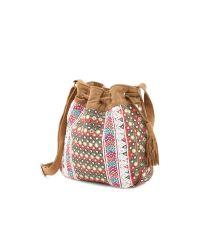 Shashi - Hailey Bucket Bag - Natural - Lyst