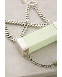 Maniamania - Green Alcina Pendant Necklace - Lyst