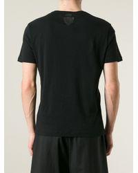 Gucci Black Back Logo T-shirt for men