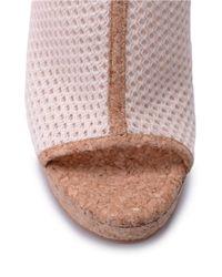 Splendid - Pink Dominique Wedge Sandals - Lyst