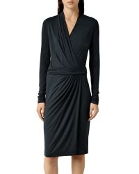 AllSaints Blue Nova Dress