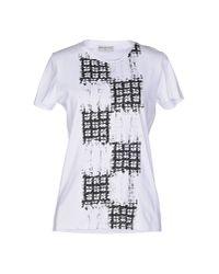 Balenciaga - White T-shirt - Lyst