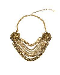 Ela Stone - Multicolor Lion Necklace - Lyst