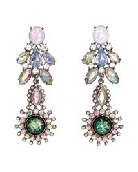 H&M | Multicolor Long Earrings | Lyst