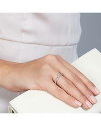 Astley Clarke | White Elba Half Eternity Ring | Lyst