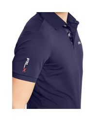 Pink Pony | Blue Tailored-fit Lightweight Polo for Men | Lyst