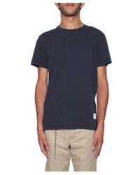 Saucony - Blue Cotton T-shirt for Men - Lyst