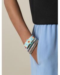 Hipanema - Blue Maldives Bracelet - Lyst