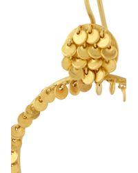 Marie-hélène De Taillac Metallic 22-Karat Gold Hoop Earrings