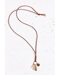 Carlymarly - Brown Wish Necklace - Lyst