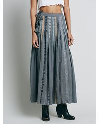 Free People | Gray Fp One Kathna Maxi | Lyst