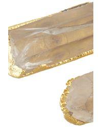 Dara Ettinger - Natural Jamie Goldplated Quartz Bracelet - Lyst