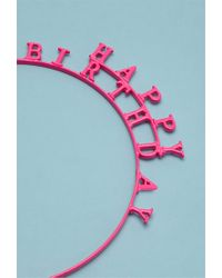 Forever 21 Pink Ban.Do Happy Birthday Headband