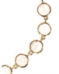 Irene Neuwirth Metallic Rainbow Moonstone Gold Bracelet