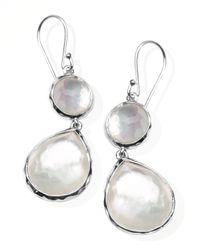 Ippolita   White Mother-of-pearl Wonderland Teardrop Earrings   Lyst