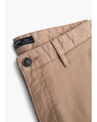Mango | Orange Straight-fit Cotton Chinos for Men | Lyst