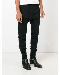 Faith Connexion - Black Track Pant Trousers for Men - Lyst