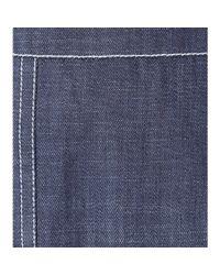 Nina Ricci Blue Denim Pencil Skirt