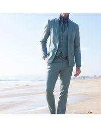 Mr Turk Blue Clyde Slim Trouser for men