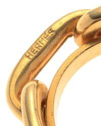Hermès | Metallic HermãˆS Regate Scarf Ring | Lyst