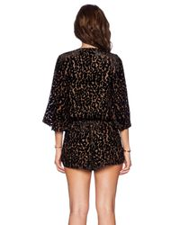 Blue Life Brown Wild And Free Romper