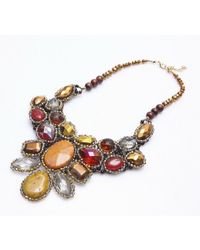 Nakamol - Multicolor Mila Necklace-gold Mix - Lyst