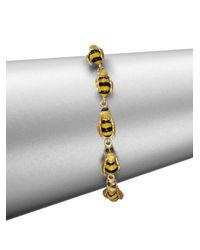 Delfina Delettrez - Metallic To Bee Or Not To Bee Bracelet - Lyst
