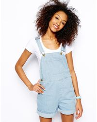 American Apparel - Blue Dungarees - Lyst