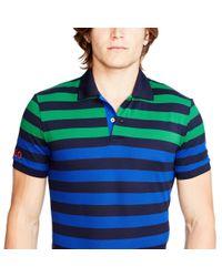 Ralph Lauren - Blue The Open Striped Polo Shirt for Men - Lyst