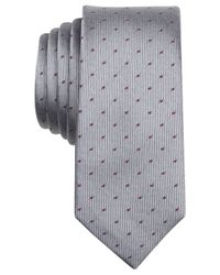 Original Penguin | Metallic Kobuk Dot Skinny Tie for Men | Lyst