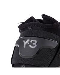 Y-3 - Black Qasa High Trainer for Men - Lyst