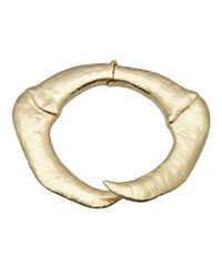 Bjorg | Metallic Howling At The Moon Bangle | Lyst