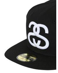 Stussy Blue New Era World Tour Baseball Hat for men
