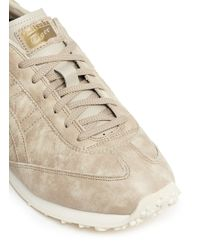 Onitsuka Tiger Natural 'enduro 78' Burnished Leather Sneakers