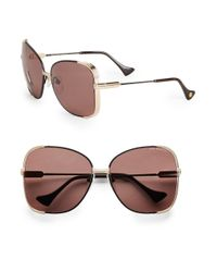 Dita Eyewear - Pink Mariposa Oversized Sunglasses - Lyst