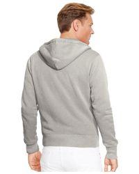 Polo Ralph Lauren   Gray Big And Tall Full-zip Classic Fleece Hoodie for Men   Lyst