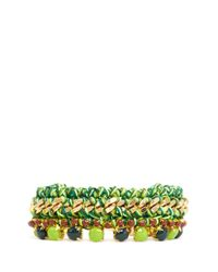 Venessa Arizaga | Green 'hawaii' Bracelet | Lyst