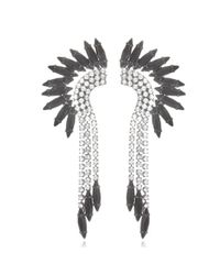Elizabeth Cole | Gray Mohawk Earrings | Lyst