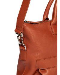 Want Les Essentiels De La Vie Brown 'o'hare Ii' Leather Shopper Tote for men